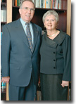 Dick and Lois Haskayne standing photo